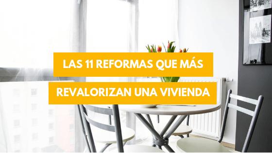 reformas que revalorizan una vivienda