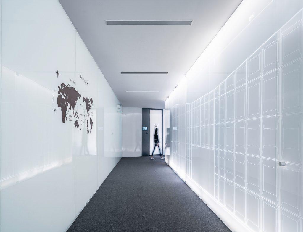 oficina reformada moderna