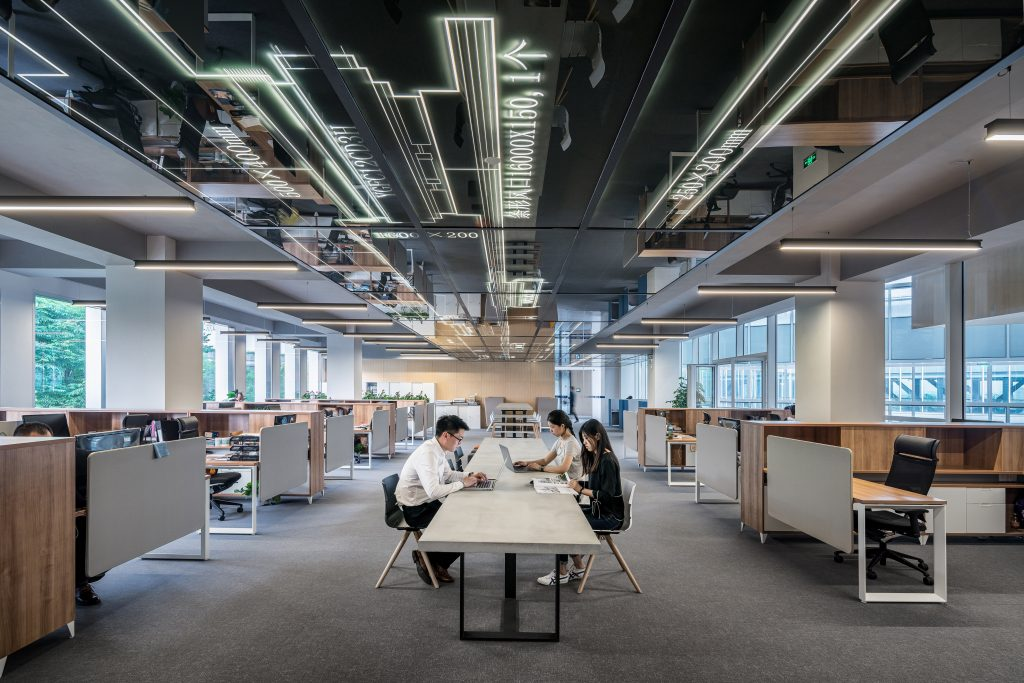 reforma de oficina espacio abierto